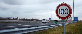 The maximum speed limit to 100 km / h. Is that bad?